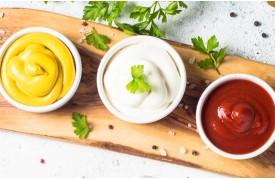 Kečup,Horčica,Majonéza
