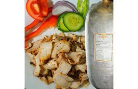 Gyros-Kebab kuracie stehno bez kosti s kožou     (5kg)