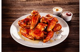 Kuracie krídelká Spice 1kg Koliber