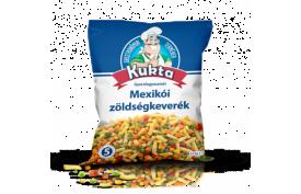 Mexická zmes, 5 dielna (hrášok, kukurica, mrkva, faz. struky žlté krájané, papr.kocky) 2,5