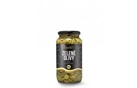 Krájané zelené  olivy, 935g