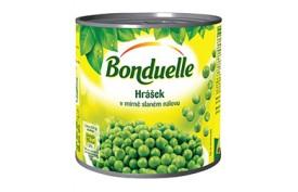 Hrášok v mierne slanom náleve 400g, Bonduelle