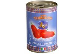 Lúpané paradajky Tomadini, 2500g