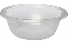 Miska priehľadná na polievku/šalát (PP) 600ml (50ks)