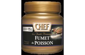 CHEF stock fish premium (6x630g), Pastovitý rybací fond